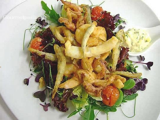 Fritto Misto Di Pesce Con Salsa Rémoulade Ricette Di Pesce