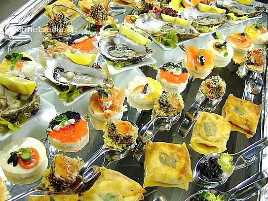 Ap ritif aux canap s hors d 39 uvres et finger food plats for Canape aperitif